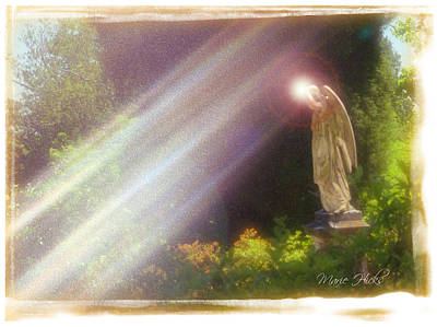Photograph - Angel Light by Marie Hicks