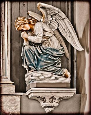 Albuquerque, New Mexico - Angel Art Print