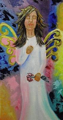 Angel Art Print by Melissa Torres