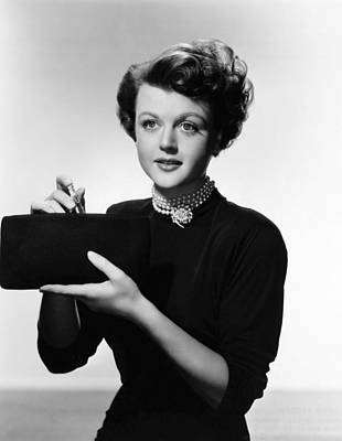 Lansbury Photograph - Angela Lansbury, 1950 by Everett