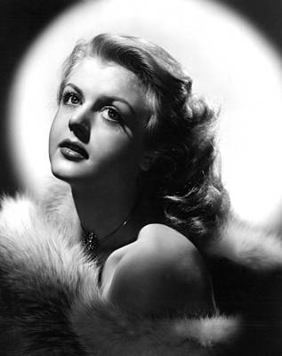 Lansbury Photograph - Angela Lansbury, 1950s by Everett