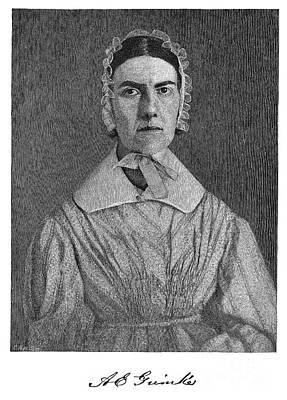 Abolition Photograph - Angelina Emily Grimke by Granger