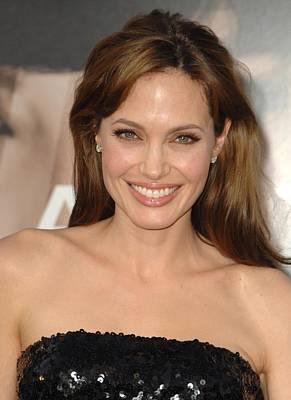 Angelina Jolie At Arrivals For Salt Art Print by Everett