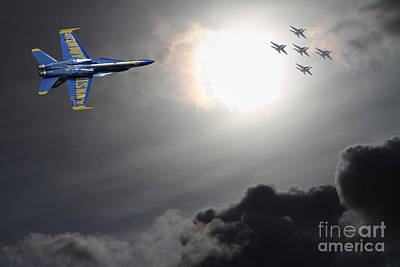 Fleet Week Photograph - Angels In The Sky by Wingsdomain Art and Photography