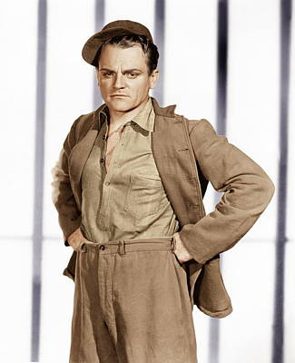 Incol Photograph - Angels With Dirty Faces,  James Cagney by Everett