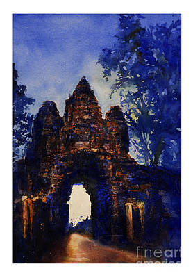 Iconography Painting - Angkor Sunrise by Ryan Fox