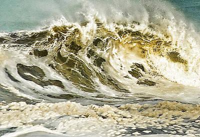 Angry Sea 3 Art Print