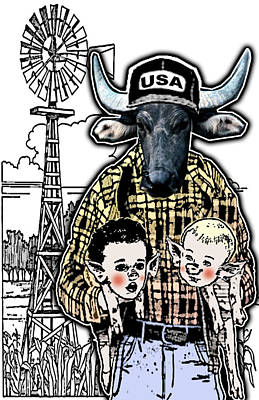 Animal Family 1 Art Print by Travis Burns