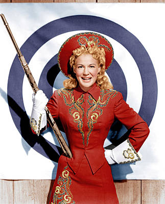 Annie Get Your Gun, Betty Hutton, 1950 Art Print