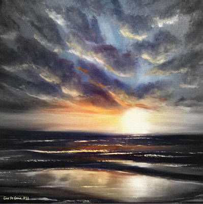 Painting - Another Sunset In Paradise 77 by Gina De Gorna