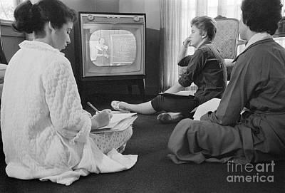 Photograph - Anti-integration, 1958 by Granger