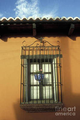 Photograph - Antigua Window by John  Mitchell