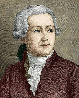 Antoine Lavoisier, French Chemist Art Print by Sheila Terry