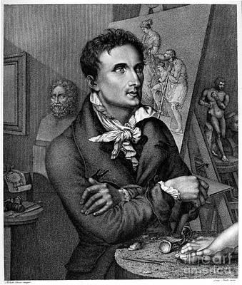 Roberto Photograph - Antonio Canova (1757-1822) by Granger