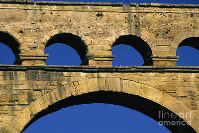 Well-known Photograph - Aqueduc Du Pont Du Gard.provence by Bernard Jaubert