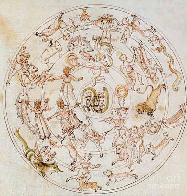 Aratuss Constellations Art Print by Science Source