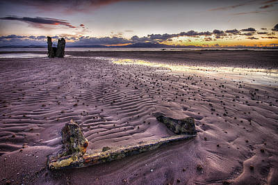 Ardrossan Sunset Art Print
