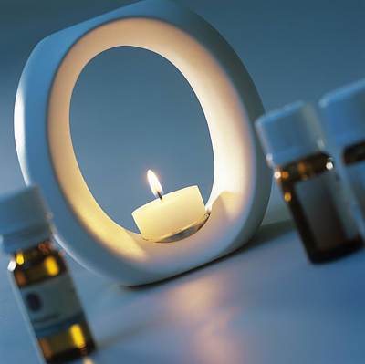 Oil Burner Photograph - Aromatherapy by Steve Horrell