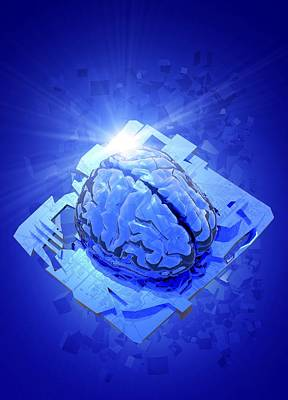Artificial Intelligence, Conceptual Image Art Print