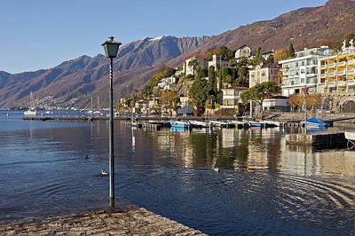 Ascona - Lake Maggiore Art Print by Joana Kruse