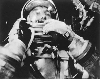 Astronaut Alan Shepard Art Print