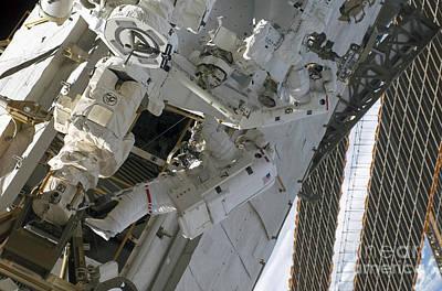 Astronauts Assemble Art Print