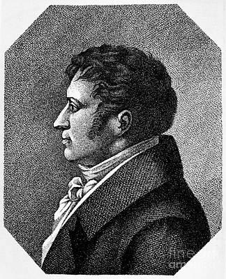 August Von Schlegel Art Print by Granger