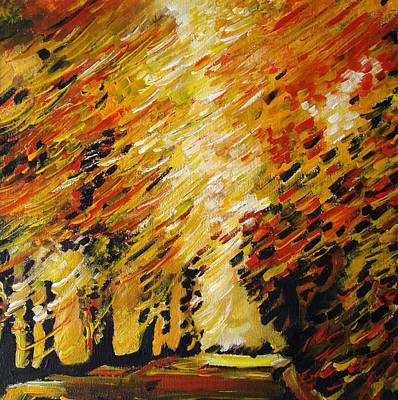 Autumn Art Print by Alexander Antonyuk