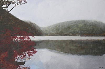 Painting - Autumn Lake by Masami Iida