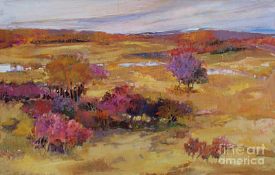 Painting - Autumn Land by Diane Ursin