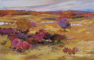 Autumn Land Art Print