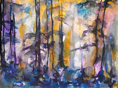 Painting - Autumn Mists by Koro Arandia