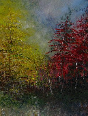 Painting - Autumn Sunshine by Sherry Robinson