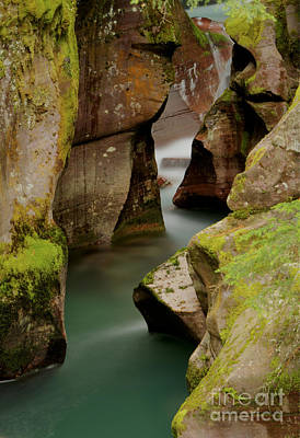 Photograph - Avalanche Gorge by Idaho Scenic Images Linda Lantzy
