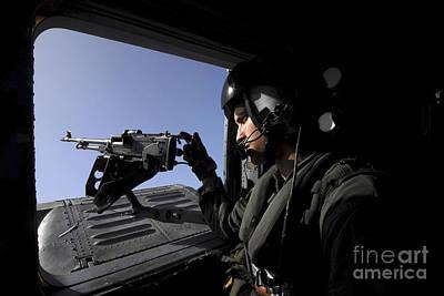 Aviation Warfare Systems Operator Art Print by Stocktrek Images