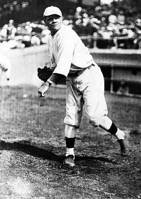 Babe Ruth 1895-1948, American Baseball Print by Everett