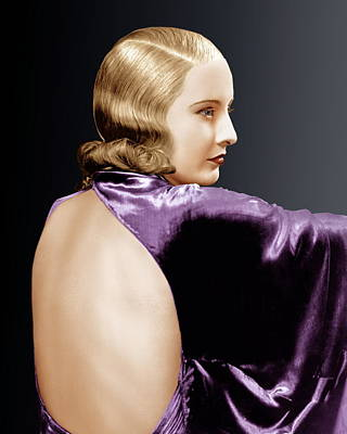 1930s Hairstyles Photograph - Baby Face, Barbara Stanwyck, 1933 by Everett