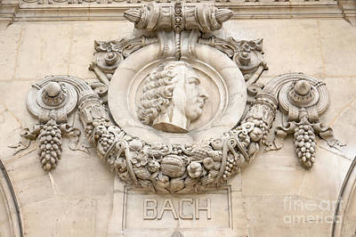 Photograph - Bach Tondo by Fabrizio Ruggeri