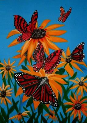 Badsunflower Art Print