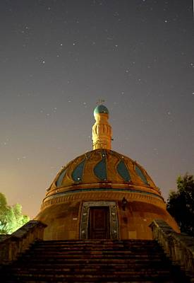 Baghdad Mosque Original by Rick Frost