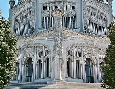 Photograph - Bahai Temple Wilmette by Rudy Umans