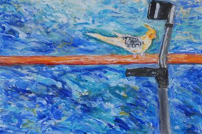 Balance Art Print by Iris Gill