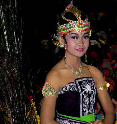 Photograph - Bali Dancer by Chua  ChinLeng