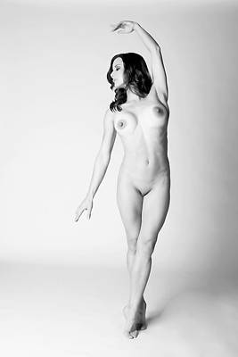 Ballerina Nude Art Print