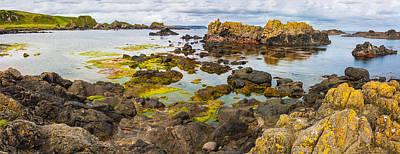 Photograph - Ballintoy Bay Basalt Rock by Semmick Photo