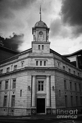 Ballymena Town Hall Now Part Of The Braid Museum And Arts Complex Ballymena  Art Print