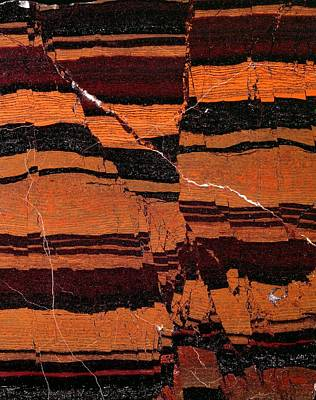 Bif Photograph - Banded Iron Formation by Dirk Wiersma