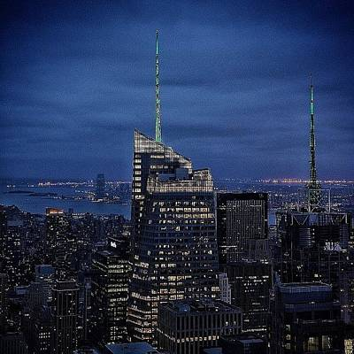 Instago Photograph - Bank Of America Tower - Ny by Joel Lopez