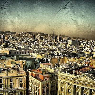 Mountain Wall Art - Photograph - Barcelona by Joel Lopez