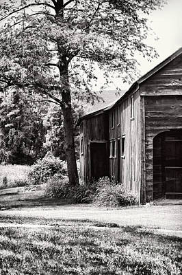 Deerfield Photograph - Barns by HD Connelly